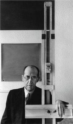 Piet Mondrian, by Arnold Newman, 1941