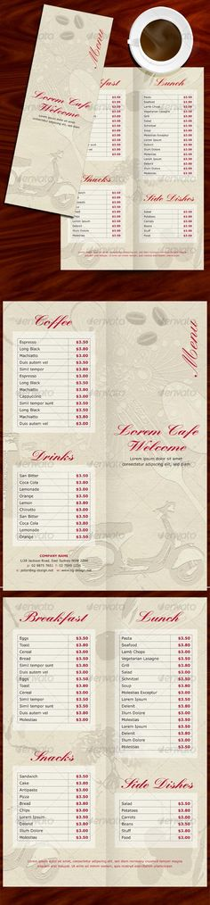 Indesign-Template-Coffee-Menu Http://Www.Designfreebies.Org/Design