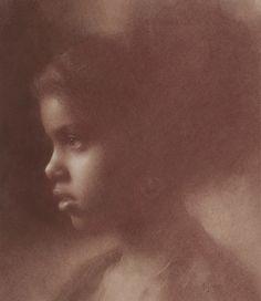 Susan Lyon.  Portrait drawing.