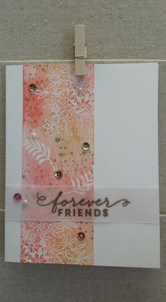 Stampin Up birthday, hello, thank you card. Awesomely Artistic, card by Gloria Kremer - Oakville demo 2016