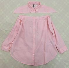 DIY Men's Shirt to Peasant Blouse Tutorial Shirt Dress Diy, Diy Shirt, Diy Clothes Refashion, Shirt Refashion, Dress Sewing Patterns, Clothing Patterns, Diy Fashion, Ideias Fashion, Blouse Tutorial