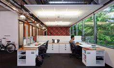 Microsoft | O+A #office #interiordesign #workplace