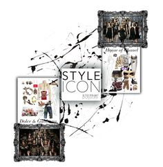 """""""Style Icons"""" by dycinnagy ❤ liked on Polyvore featuring Lisa Perry, Dolce&Gabbana, Chanel and Casetify"""