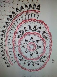 Serweta Crochet Cozy, Crochet Round, Diy Crochet, Crochet Doilies, Crochet Diagram, Crochet Chart, Filet Crochet, Crochet Stitches, Doily Patterns