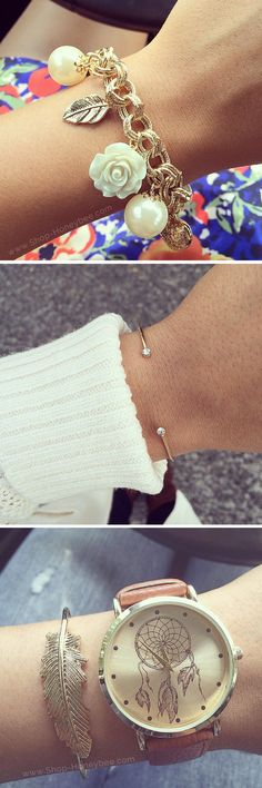 From simple to stacked, we're obsessing over all these gorgeous bracelets!