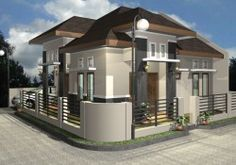 Exterior Home Design Type 36 - It is the texture of a house cat will be judged on the art and the establishment of paint. Special made side .... more visit http://goo.gl/HziUrY