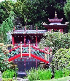 Japanese Landscape Design Bridges