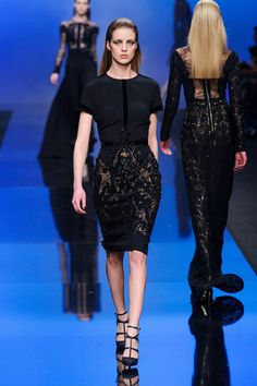 Elie Saab at Paris Fashion Week Fall 2013 - StyleBistro