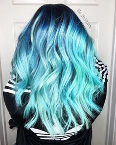 Top 11 icy light blue hair color ideas for girls 2019 Top 11 Ice Blue Hair Color Ideas for Girls 2018 There are countless different hair colors to choose from. We are not begging blond, red and brown. Kids Hair Color, Vivid Hair Color, Girl Hair Colors, Cute Hair Colors, Pretty Hair Color, Beautiful Hair Color, Hair Dye Colors, Different Hair Colors, Bright Blue Hair