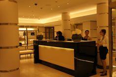 Reception area at Chanel Spa, Paris Reception Areas, Spa, Chanel, Paris, Table, Furniture, Home Decor, Montmartre Paris, Decoration Home