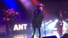 Adam Ant - Young Parisians - Glasgow 07 May 2017