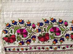 19th C Lovely Antique Ottoman Turkish Gold Silk Hand Embroidery on Linen | eBay