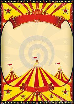 Carnival Border Templates | Blank Circus Sign Circus ...