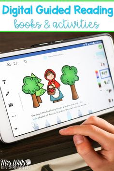 Digital guided reading books for your favorite traditional tales. Guided reading levels AA-J with digital and printable options. A great way to use technology in your classroom or keep guided reading going during distance learning!