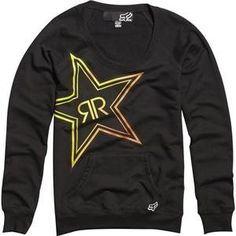 Fox Racing Women's Rockstar Fade Pullover Sweatshirt « Clothing Impulse