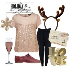 Girly Christmas..like this looks comfy and classy