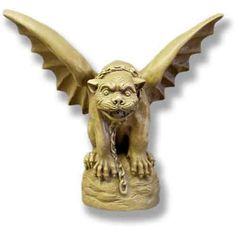 Have to have it. Tuscany Gargoyle Statue - $189.99 @hayneedle.com