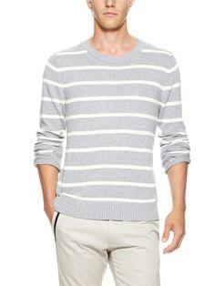 Hand Loomed Stripe Sweater by FIELD SCOUT