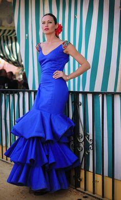 Feria of Sevilla Prom Dresses, Formal Dresses, Wedding Dresses, Spain Fashion, Special Dresses, Mexican Style, Costume, Dance Outfits, Beautiful Gowns