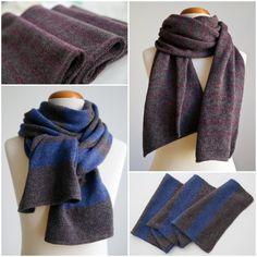 Мальчишкам тоже нужны подарки!  Вязаные шарфы из итальянской шерсти ягненка согреют двух замечательных братьев Цена 2850 руб., доступны для заказа в моем магазине, ссылка в профиле #knitting #knit #knitwear #loveknit #вязание #вяжутнетолькобабушки #вязаниеназаказ #вязаниеспицами #шарф #вязаныйшарф