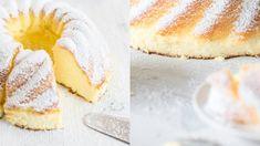 Anschnitt: Quarkkuchen ohne Boden wie von Oma