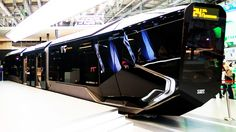 New Russian Futuristic Spaceship ATOM Tram 2015 - Uralvagonzavod