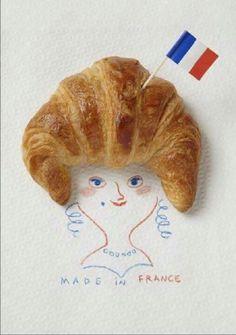 Het bolletje van de koningin...   #koningsdag #koningin #croissant