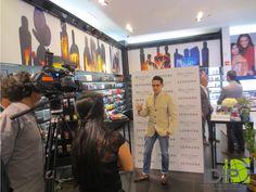 Emmanuel Castillo dio su opinión acerca de la presentación de la marca Atelier Cologne #AtelierColgneBySephoraMX