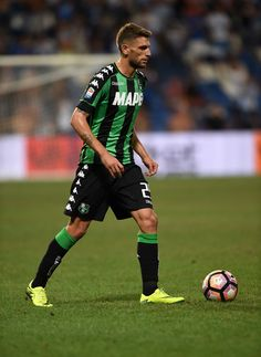 Domenico Berardi of US Sassuolo in action during the Serie A match between US…