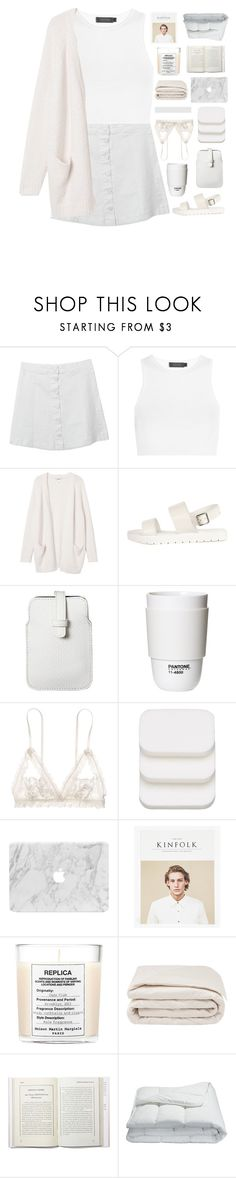 """collab with symone!"" by orchid-fire ❤ liked on Polyvore featuring Calvin Klein Collection, Monki, Mossimo, ROOM COPENHAGEN, Hanky Panky, COVERGIRL, Maison Margiela and Frette"