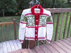 My Christmas sweater from Debbie Bliss knitting magazine Fall/Winter 2011