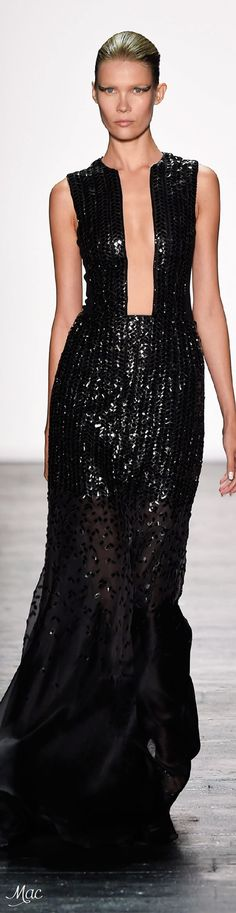 Spring 2016 Ready-to-Wear Carmen Marc Valvo