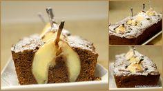 Chec cu pere intregi si ciocolata | Simplu Feminin Cheesecake, Desserts, Food, Tailgate Desserts, Deserts, Cheesecakes, Essen, Postres, Meals