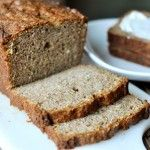 Mel's Kitchen Cafe | Cream Cheese Banana Bread with Sweet Cinnamon Topping
