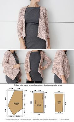 fashion ideas for women,fashion ideas for work,fashion ideas casual,unique fashion ideas Fashion Sewing, Kimono Fashion, Diy Fashion, Fashion News, Ideias Fashion, Work Fashion, Unique Fashion, Coat Patterns, Dress Sewing Patterns