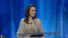 Actress-writer-producer-director Angelina Jolie is introduced by friend and collaborator Dean Semler, ASC, ACS. She then discusses working with and learning from cinematographers.