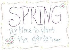 Spring Garden Sampler 5x7 | Spring | Machine Embroidery Designs | SWAKembroidery.com HeartStrings Embroidery