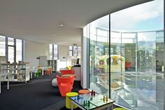 Gallery - Toy and Media Library / Philippe Fichet Architectes - 16