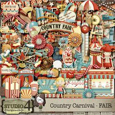 Country Carnival - Fair by Studio4 DesignWorks #thestudio #digitalscrapbooking