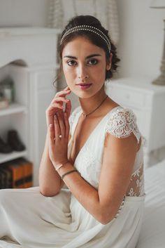 Bijoux mariage boheme - Headband mariage boheme ...
