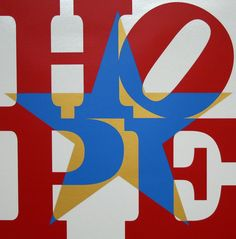 Star of HOPE, Red/Blue/White/Gold | Robert Indiana, Star of HOPE, Red/Blue/White/Gold (2013)