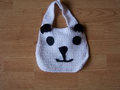 Crocheted Baby Bibs Creatures by StephWorkz on Etsy, $6.00