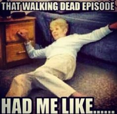 I can't wait till february when they give us our lives back! #thewalkingdead #TWD #funny