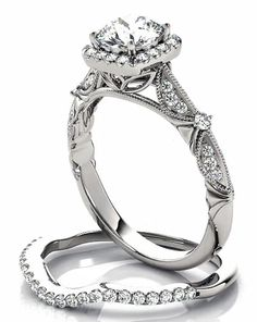 1 ct Forever One Moissanite Solid 14K White Gold by GNGJewel