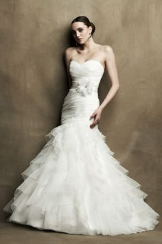 Princess Wedding Dresses 2012 with Ribbon