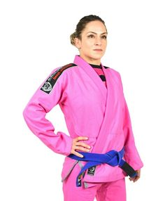 OKAMI fightgear Women BJJ Gi Warrior pink
