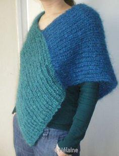 patron pr tricoter un poncho bb : Forum Créations manuelles auFeminin