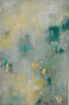 """""""Light On The Wall"""" by Jane Ingol. 36 x 24 inches. Acrylic on canvas. $1,000. #abstract #abstractart #contemporaryart #decor #homedecor"""