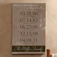 I would LOVE to have this done or made with all 5 of my boys names & birth dates on it after we can adopt!!!