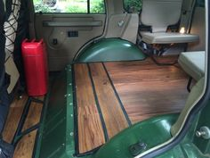 Land Rover discovery 1 1995 redone interior using faux wood